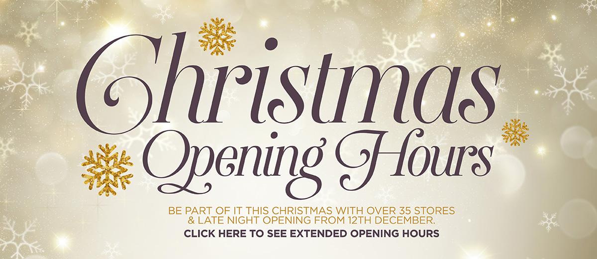 Erneside Christmas Opening Hours